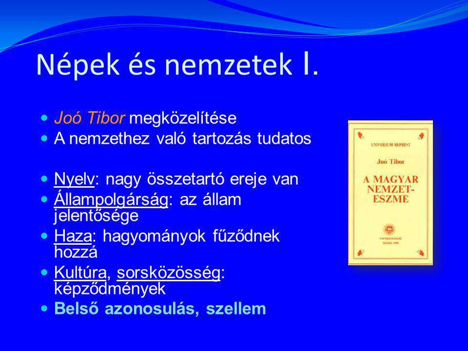 Népek és nemzetek II.