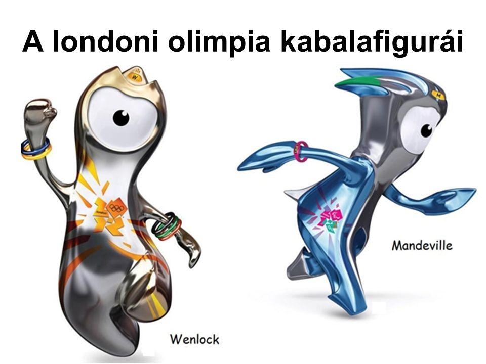 A londoni olimpia kabalafigurái