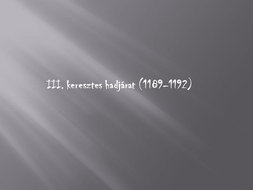 III. keresztes hadjárat (1189–1192)