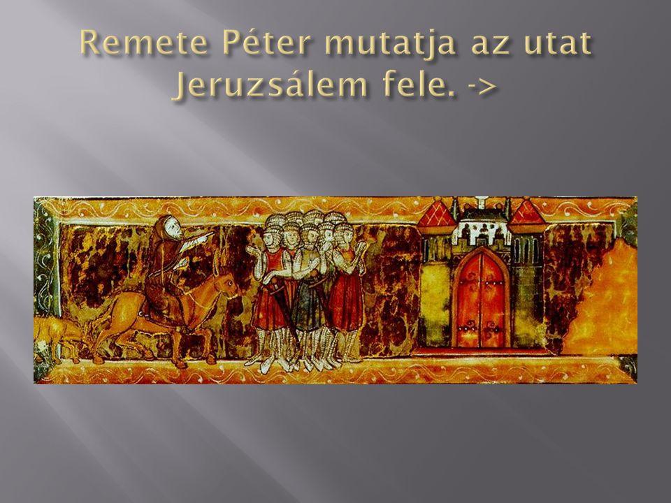 Előkészületek A seregek más és más útvonalakon indultak a szentföldre.