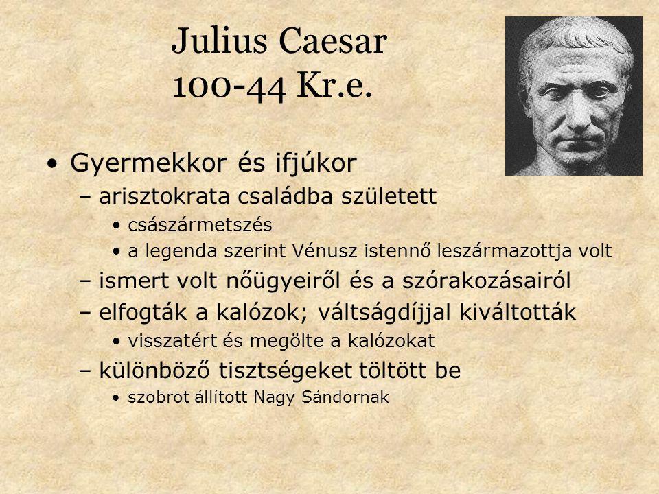 Julius Caesar 100-44 Kr.e.