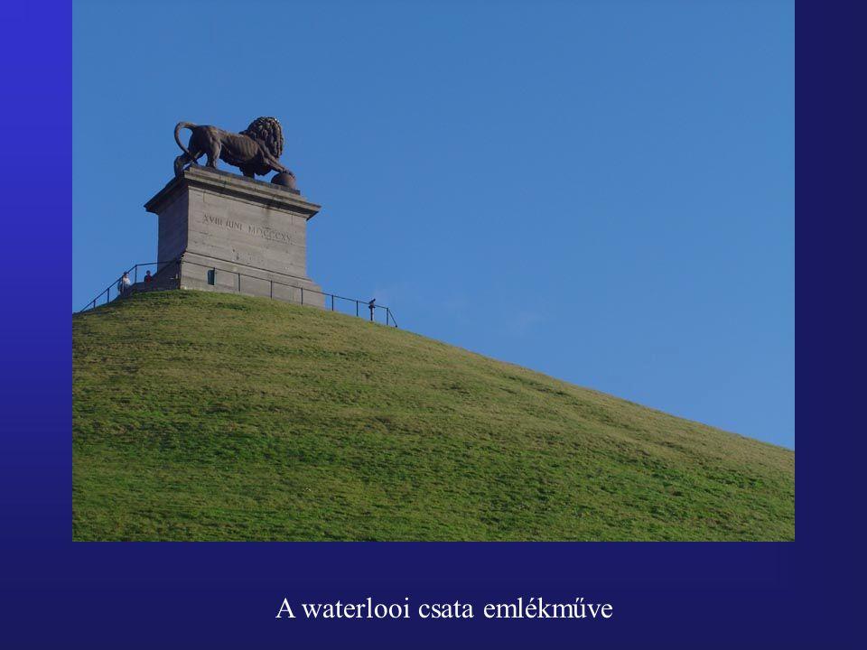 A waterlooi csata emlékműve