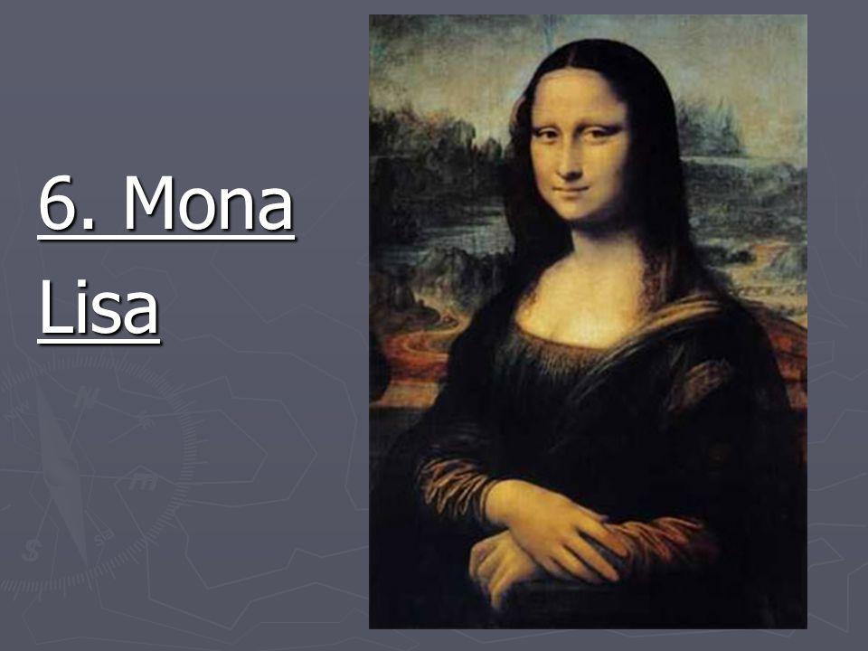 6. Mona Lisa