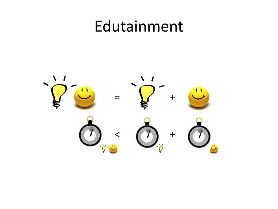 Edutainment + +< =