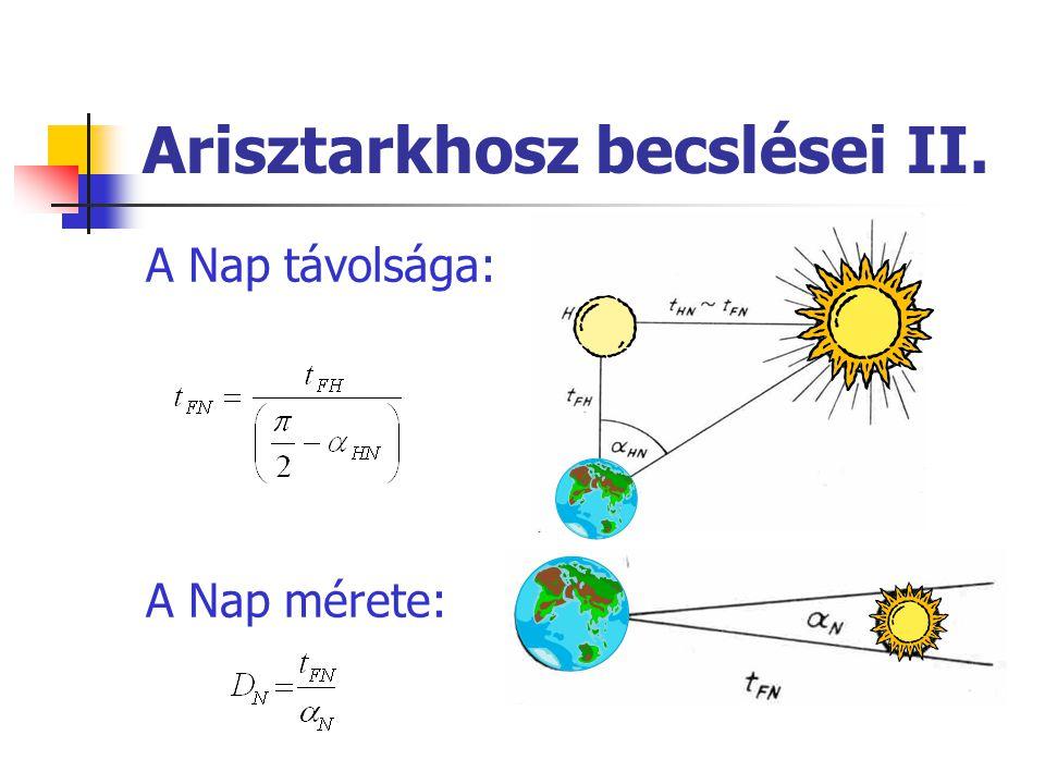 Kepler törvényei 1.
