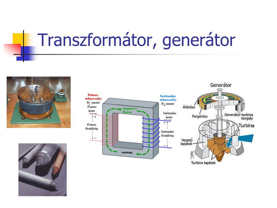 Transzformátor, generátor