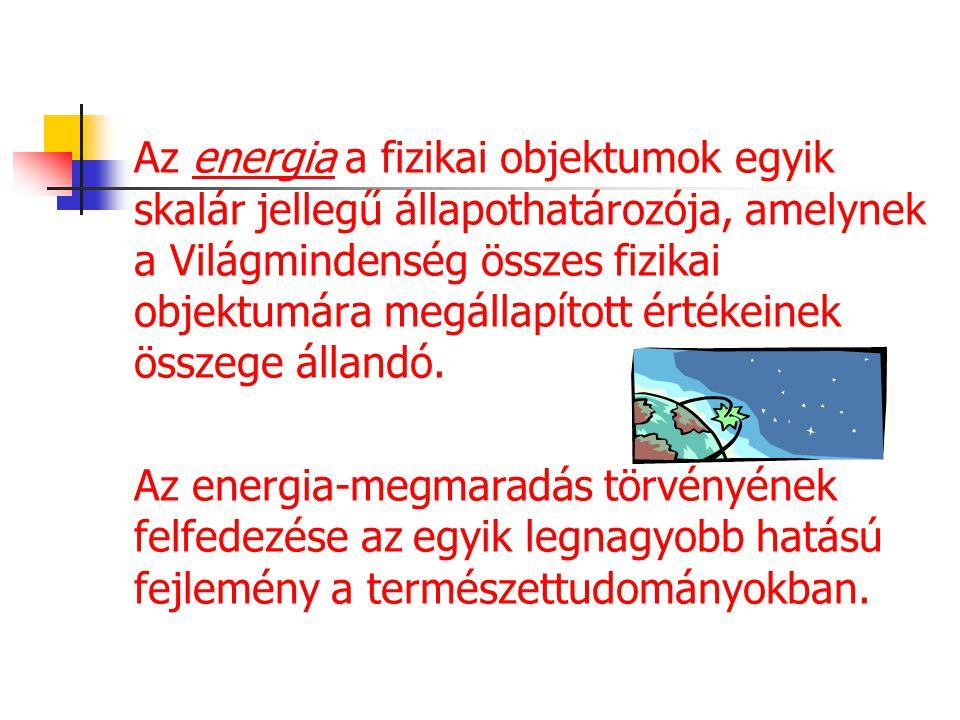 """Történet Az energia szó a görög ενεργεια kifejezésből ered, ahol az εν- jelentése """"be- az έργον-é pedig """"munka az -ια pedig absztrakt főnevet képez."""