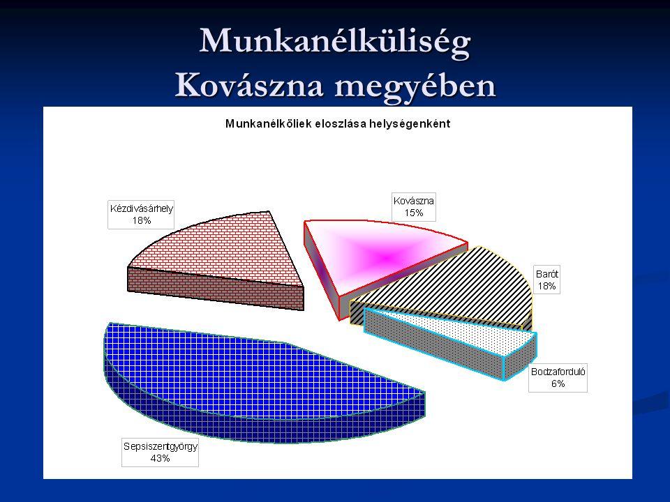 Munkanélküliség Kovászna megyében