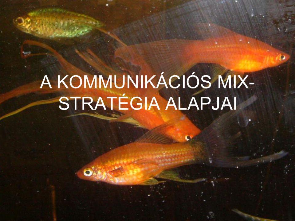A KOMMUNIKÁCIÓS MIX- STRATÉGIA ALAPJAI