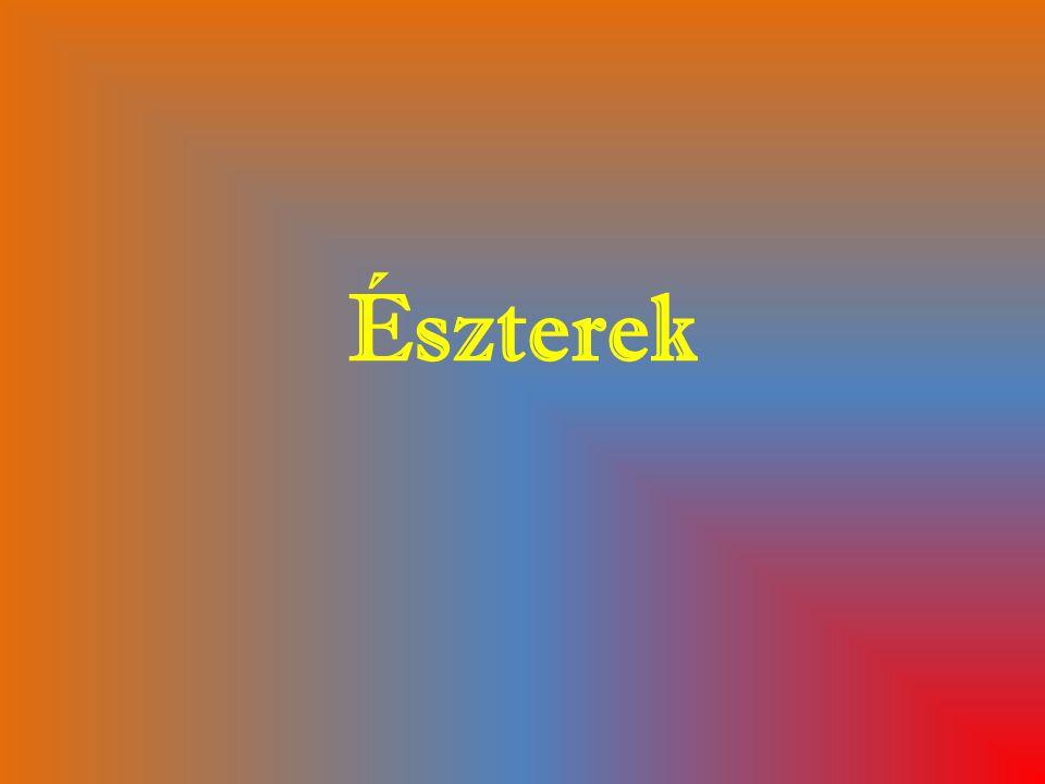 Észterek