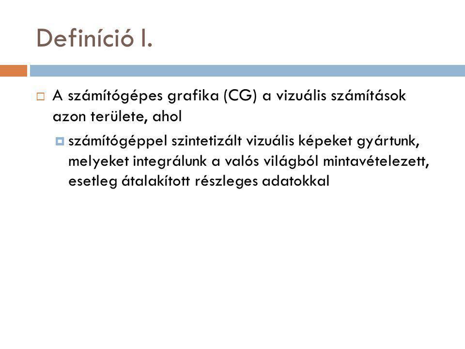 Definíció I.
