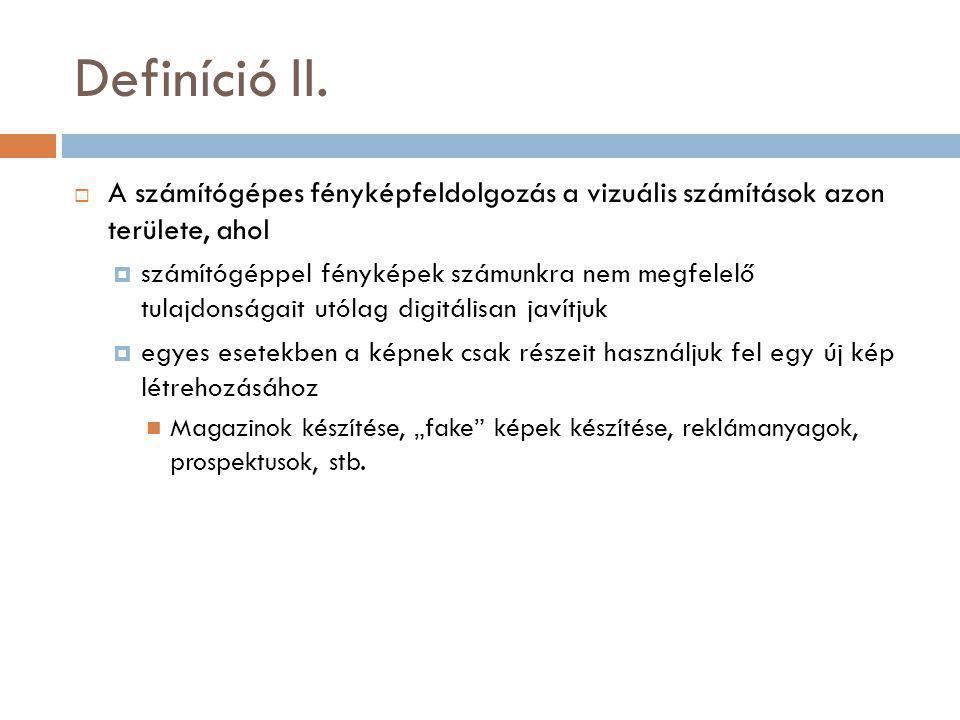 Definíció II.