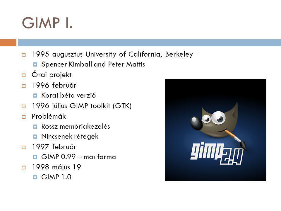 GIMP I.