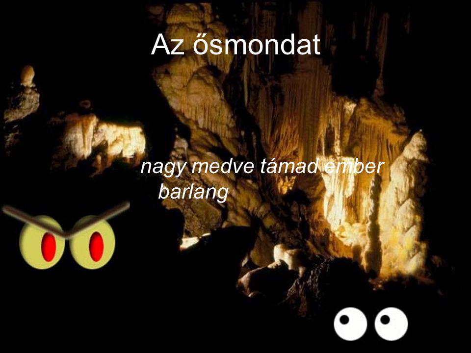nagy medve támad ember barlang