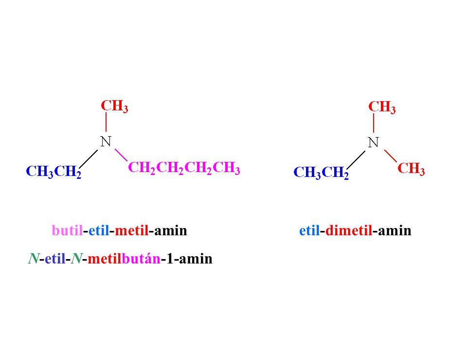 butil-etil-metil-amin etil-dimetil-amin N-etil-N-metilbután-1-amin