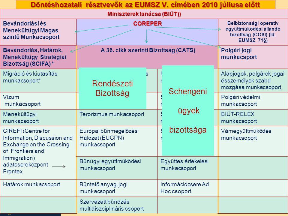 Nagy Boldizsár előadása Döntéshozatali résztvevők az EUMSZ V.