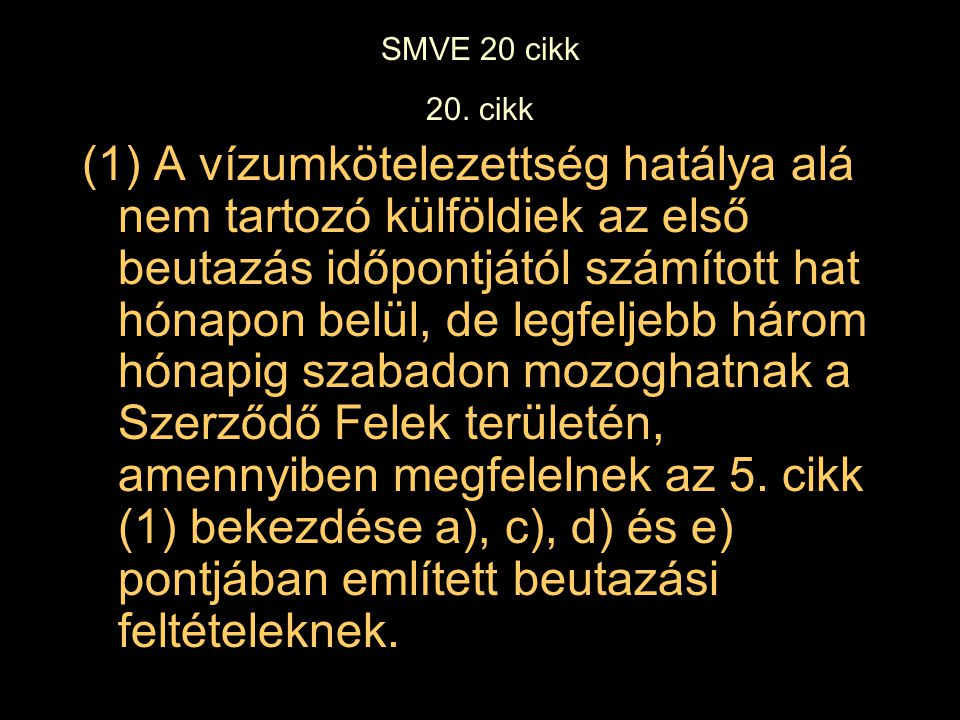 SMVE 20 cikk 20.