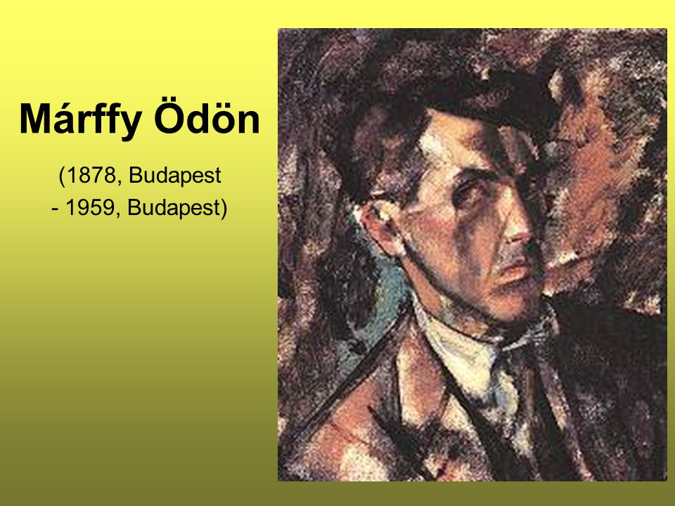 Konstruktiv önarckép 1914 Olaj, vászon, 92 x 69,5 cm Magyar Nemzeti Galéria, Budapest A portré a Nyolcakkal való szellemi és művészi közösségvállalás időszakának egyik kimagasló alkotása.