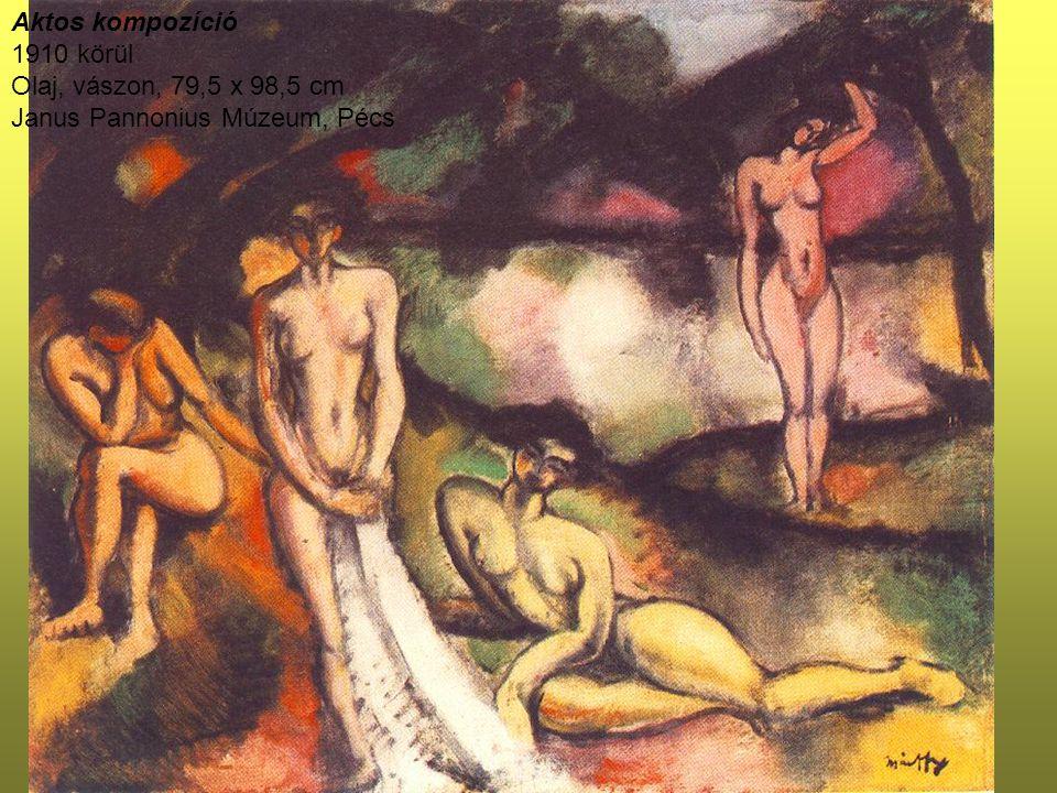Márffy rövid müncheni kerülővel fiatalon jutott el Párizsba, ahol Cézanne és Van Gogh festészete ejtette rabul.