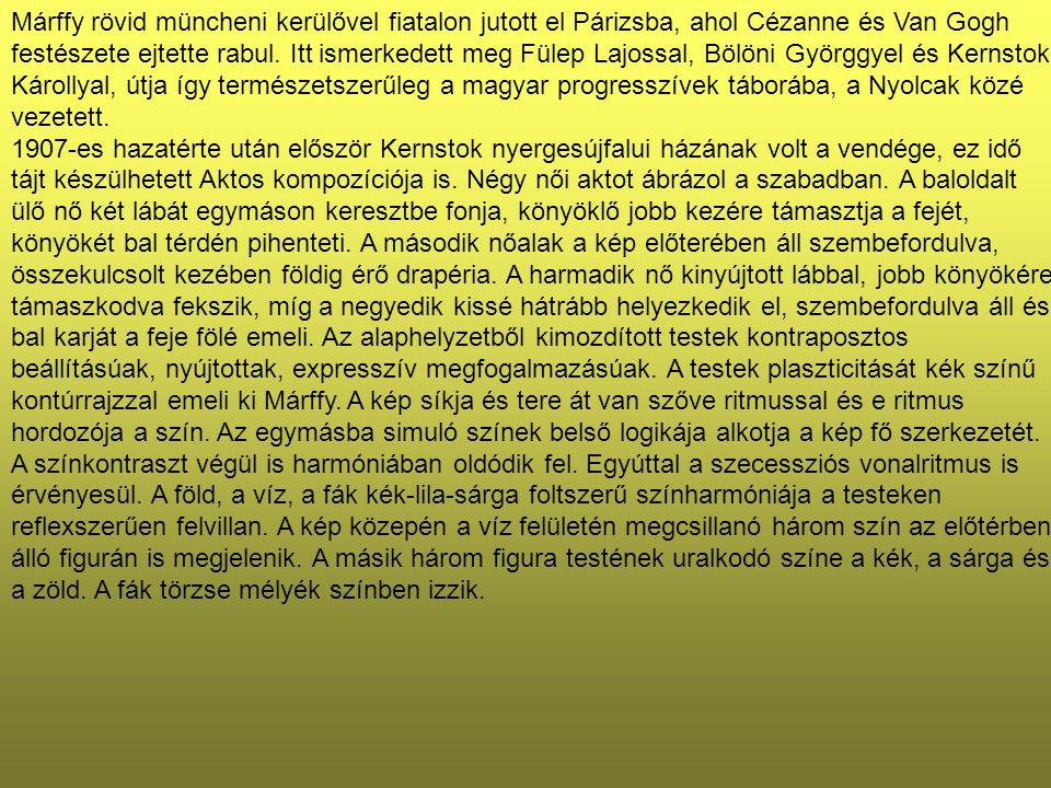 Zenebohóc akrobatalánnyal (Bohóc) 49×35 cm Olaj, karton Jelezve balra lent: Márffy Ödön
