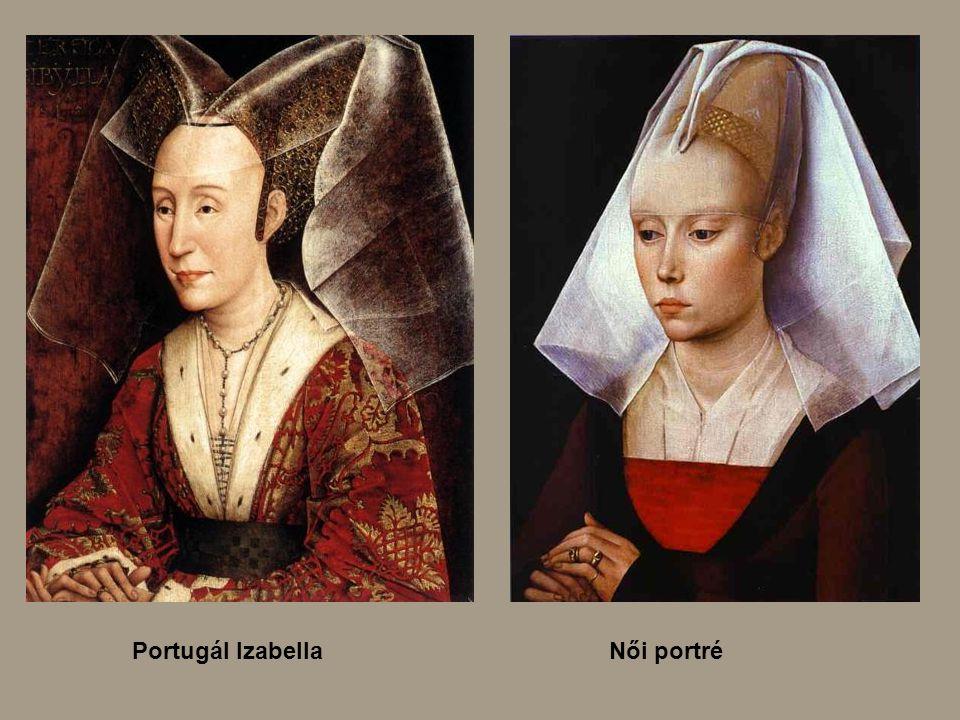 Portugál Izabella Női portré
