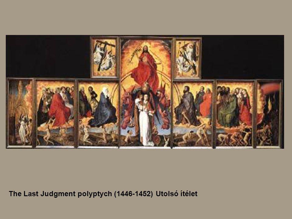 The Last Judgment polyptych (1446-1452) Utolsó ítélet
