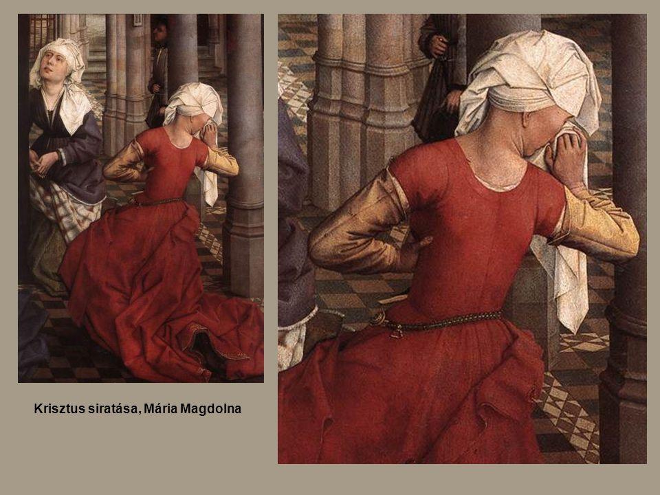 Krisztus siratása, Mária Magdolna