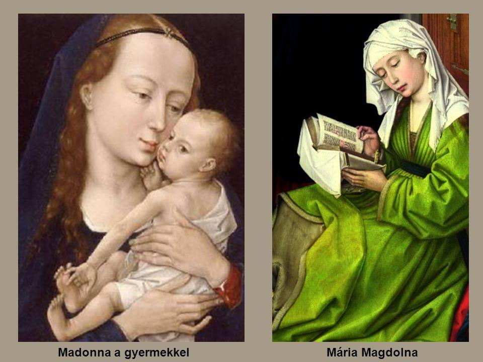 Mária MagdolnaMadonna a gyermekkel