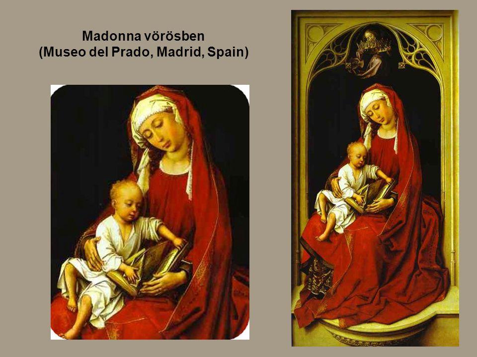 Madonna vörösben (Museo del Prado, Madrid, Spain)