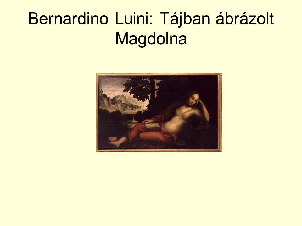 Bernardino Luini: Tájban ábrázolt Magdolna