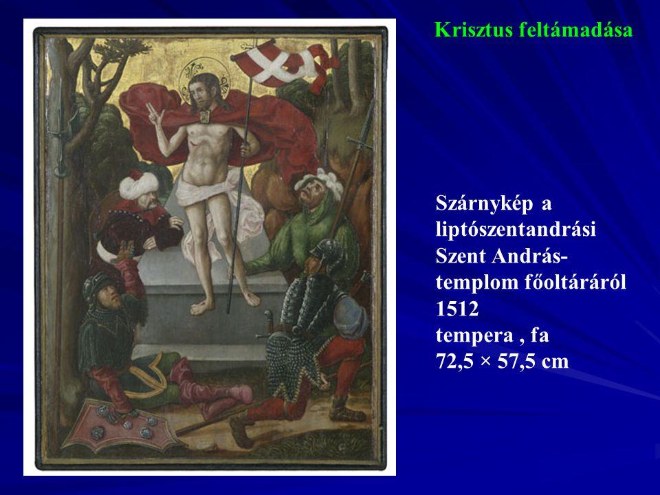 Angyali üdvözlet A kisszebeni plébániatemplom Angyali üdvözlet- oltárának szekrénye 1515-1520 faszobor, fa 223 × 126 cm