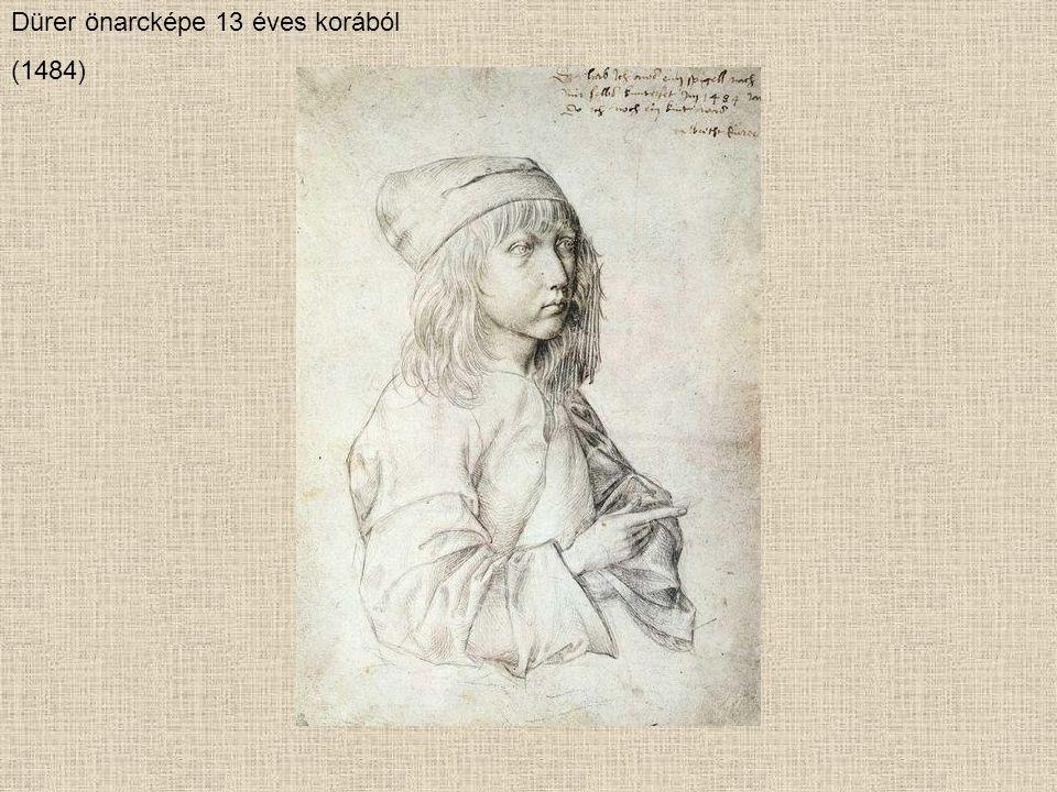 1494 nyarán készült első akvarelljeinek fő témája a táj.