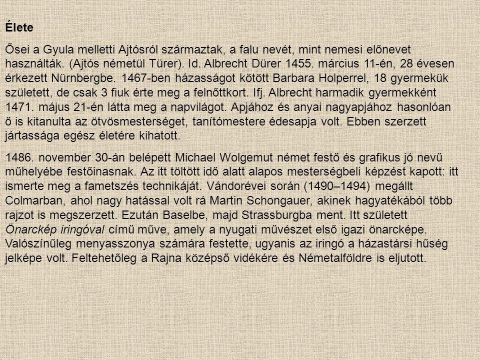 Önarckép 1493