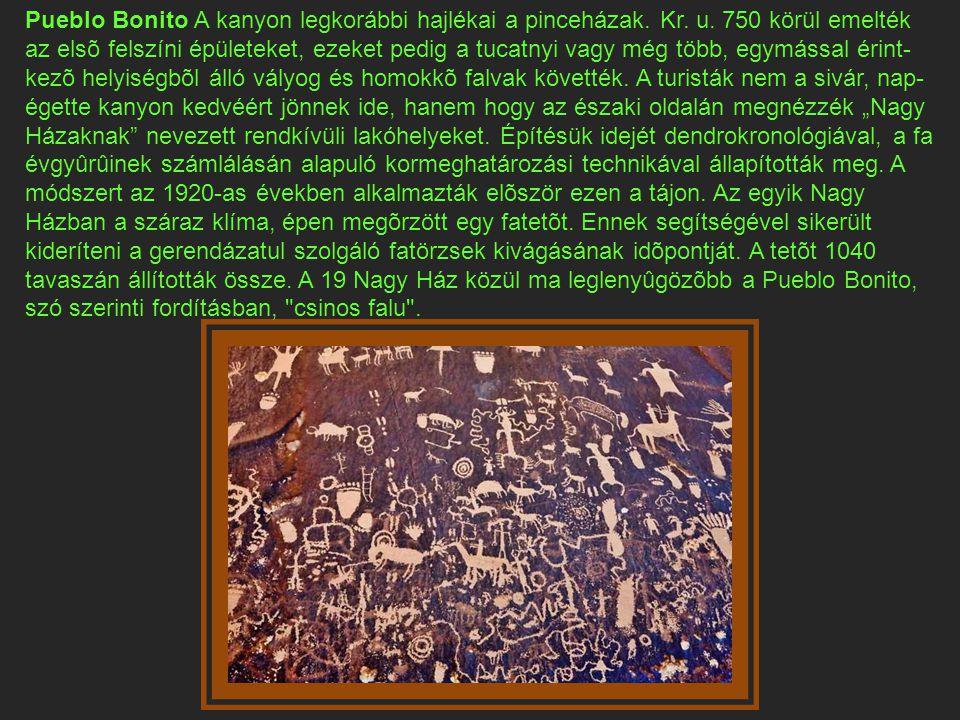A kiva föld alatti jellege arra az anasazi hitre utal, mely szerint a föld az életerõ forrása.