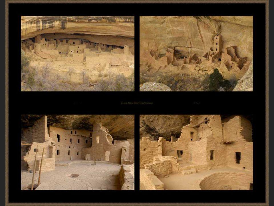 A lélekalagutak A Chaco Canyon minden kommunájának volt egy kivája (Pueblo Bonitónak 37.) A kiva kör alakú, gerendatetõs, süllyesztett kamra, a közepén tûzhellyel.