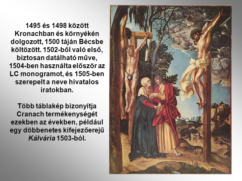 1495 és 1498 között Kronachban és környékén dolgozott, 1500 táján Bécsbe költözött.