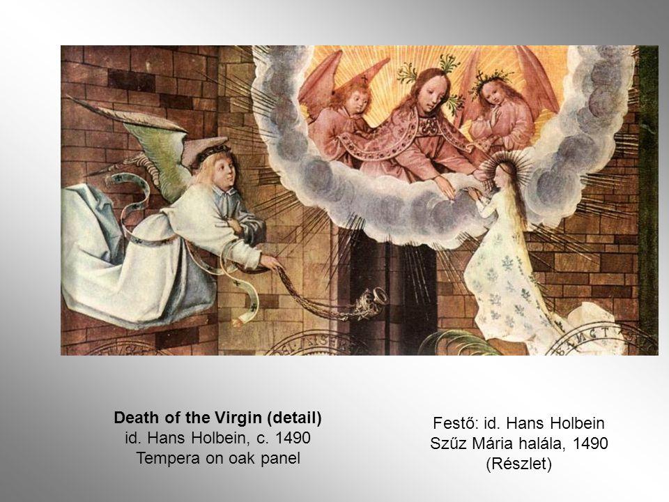 The Annunciation to Joachim 1516-18 Oil on panel, 61 x 51 cm Az angyal híradása Joachimnak /Nemes Marcell gyűjteményéből/