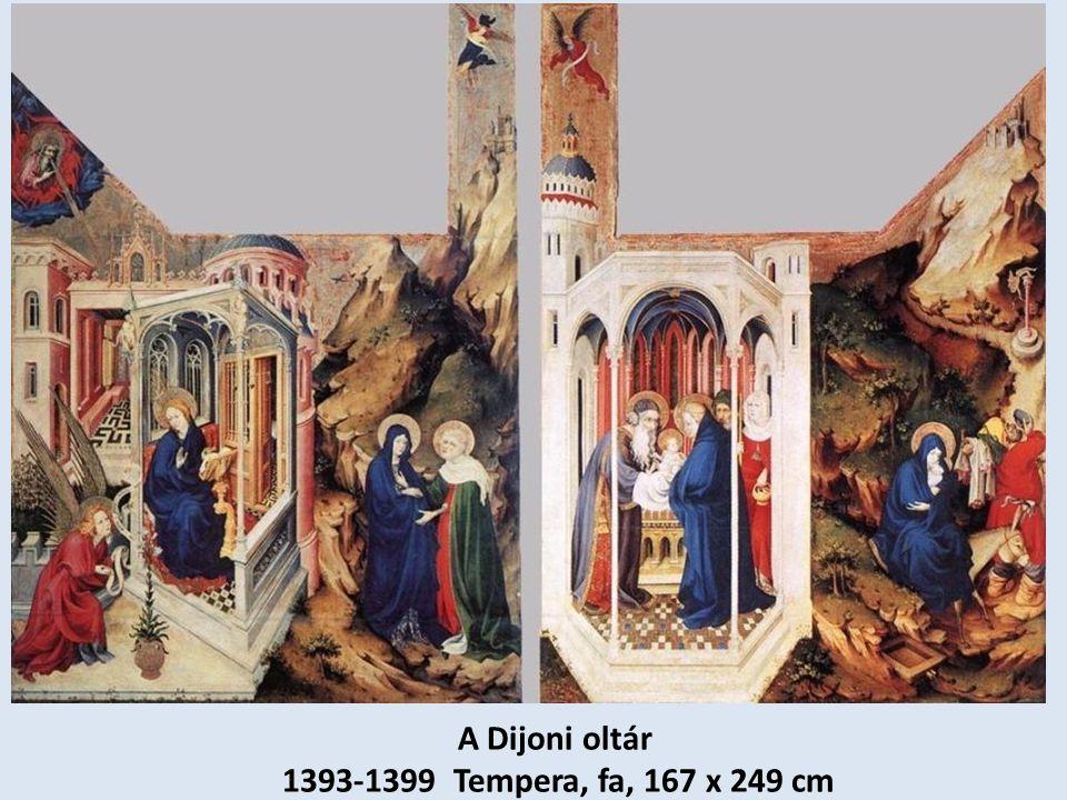 A Dijoni oltár 1393-1399 Tempera, fa, 167 x 249 cm