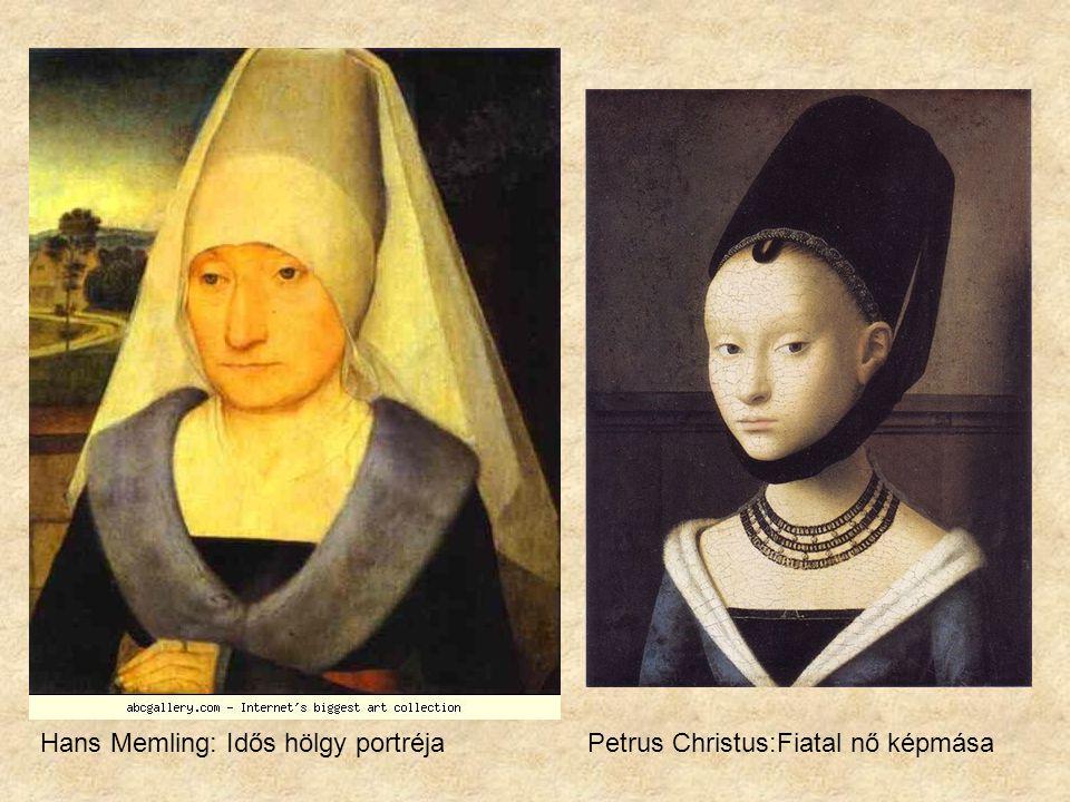 Petrus Christus: St. Eligius /részlet/