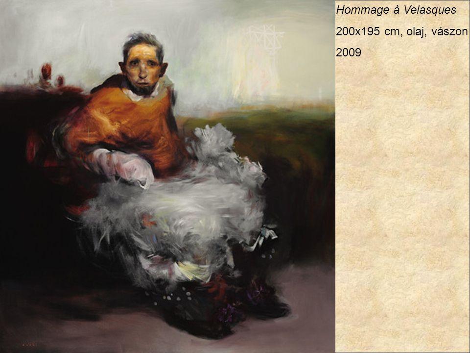 Hommage à Velasques 200x195 cm, olaj, vászon 2009