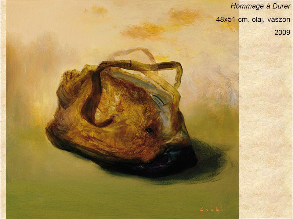Hommage à Dürer 48x51 cm, olaj, vászon 2009