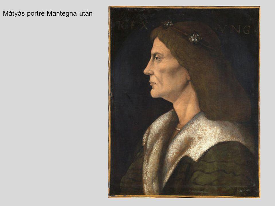 Mátyás portré Mantegna után