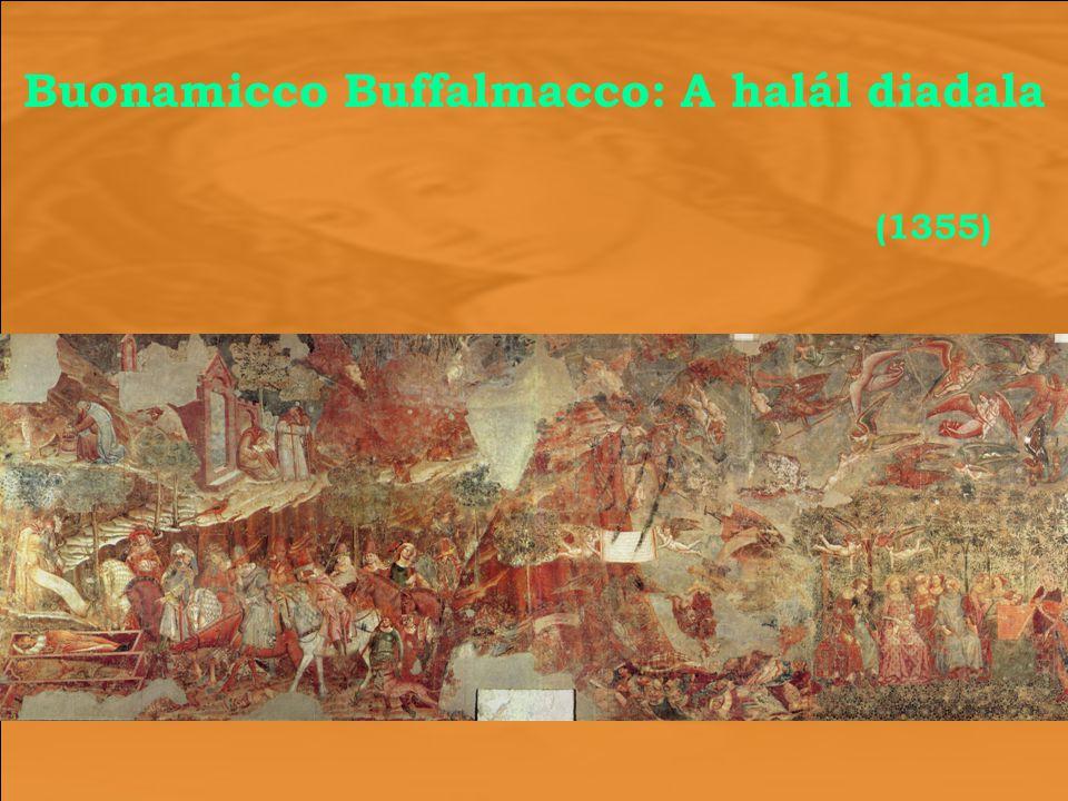 Buonamicco Buffalmacco: A halál diadala (1355)