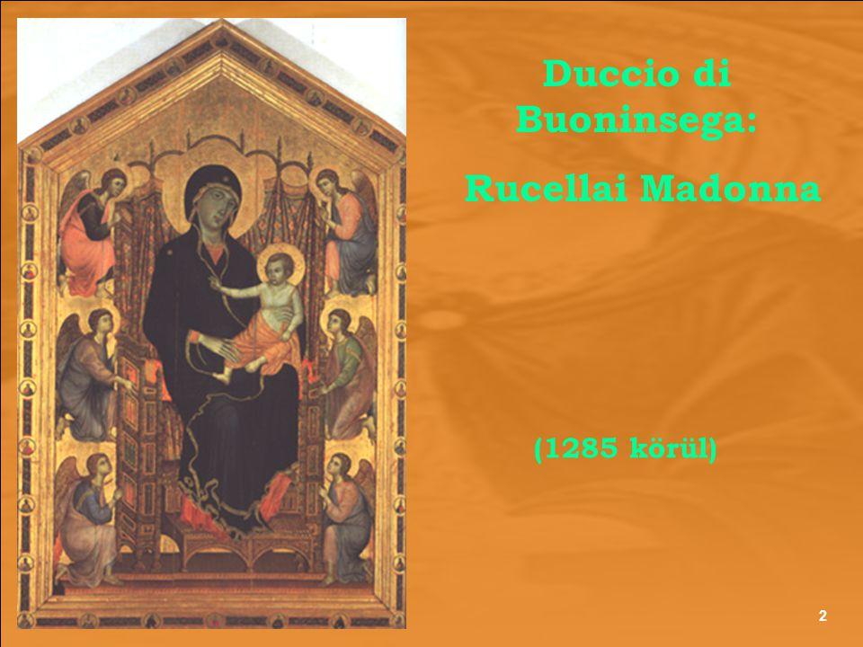Duccio di Buoninsega: Rucellai Madonna (1285 körül) 2