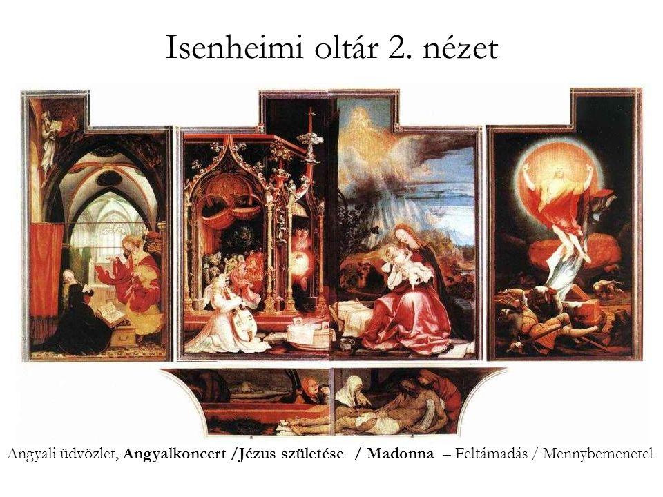 Isenheimi oltár 3.