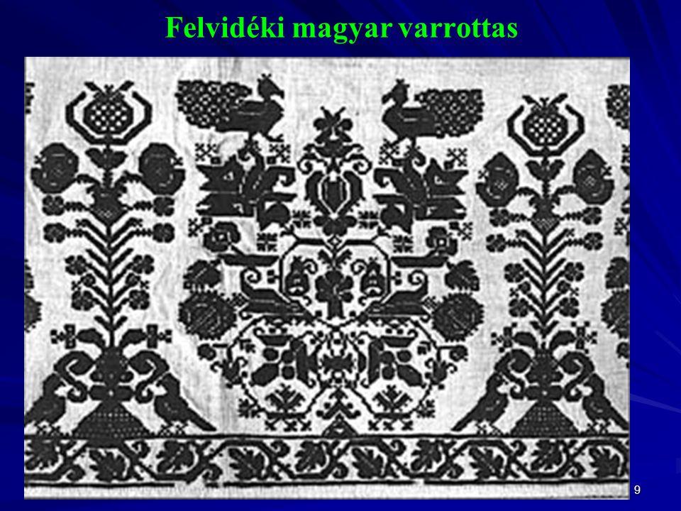 9 Felvidéki magyar varrottas