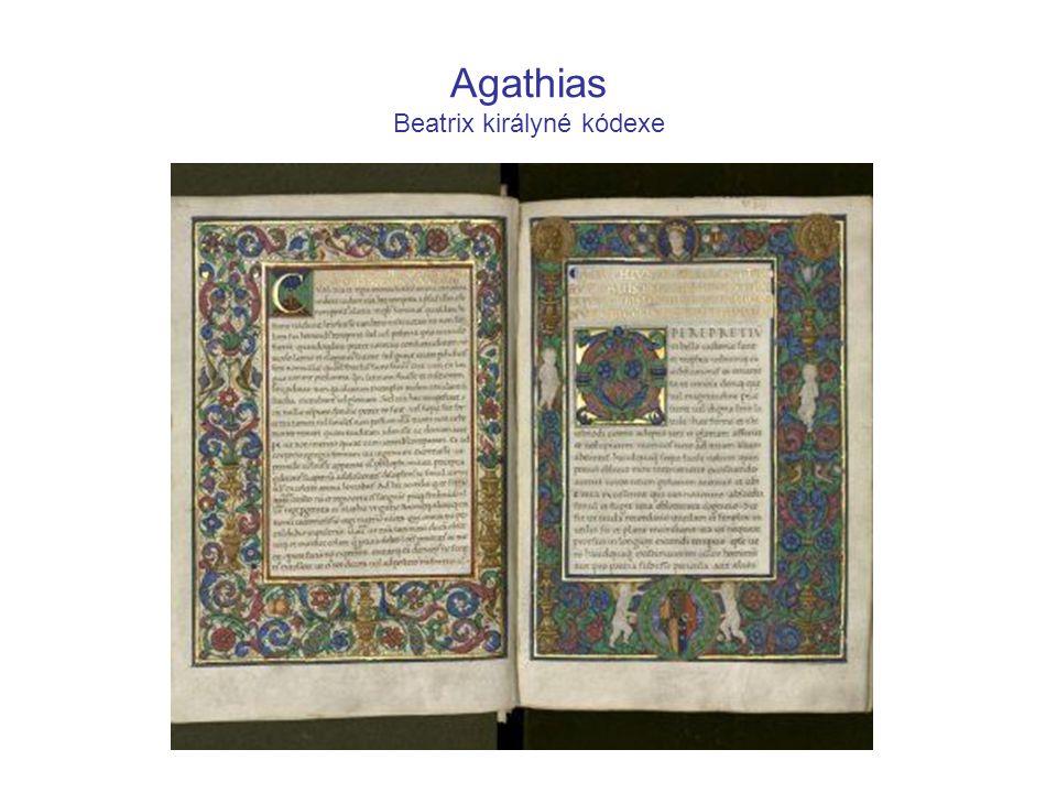 Agathias Beatrix királyné kódexe