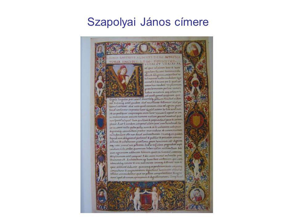 Szapolyai János címere