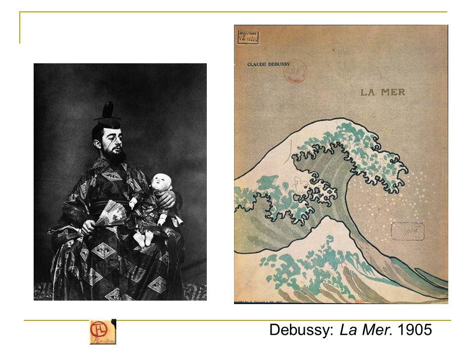 """""""Japonizmus , a japán művészet hatása 1860-as évektől: japán fametszetek jelennek meg Európában 1890."""