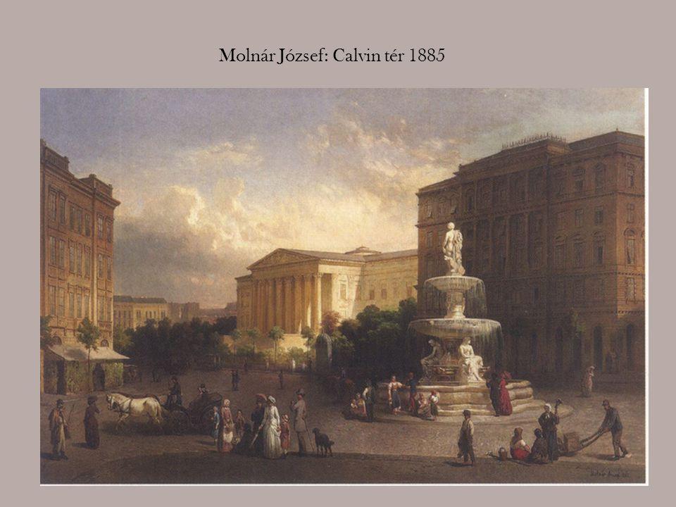 Lechner Gyula: Kristóf tér, 1901
